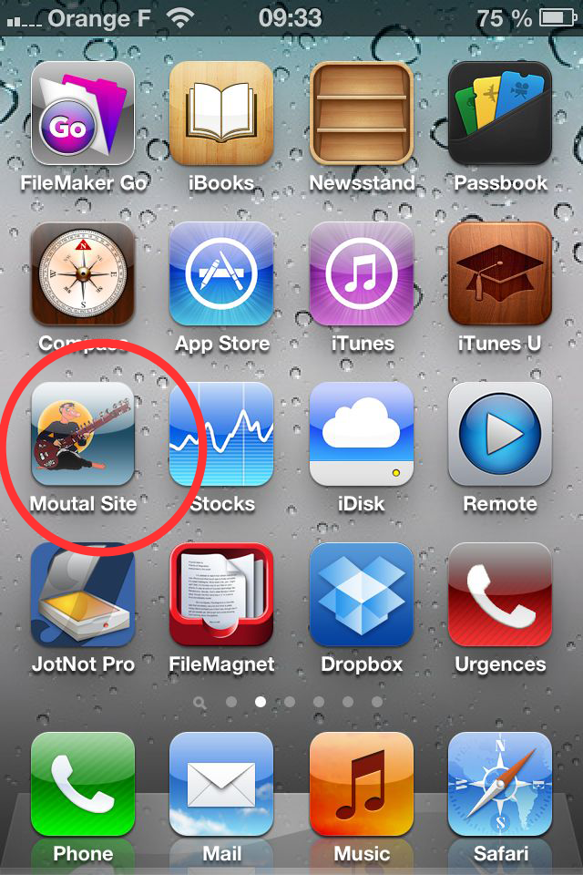 moutsite iphone icon