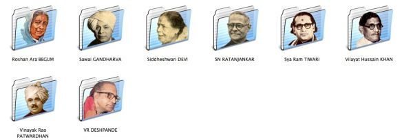 Hindustani vocalists icon folders 3